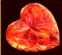 Scatter red diamond